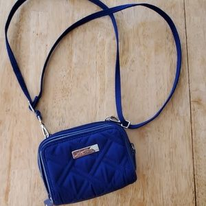Vera Bradley all in one crossbody wallet/ purse
